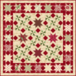 Holiday Stars PDF Quilt Pattern