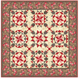 """Red Velvet Dream"" PDF Quilt Pattern"