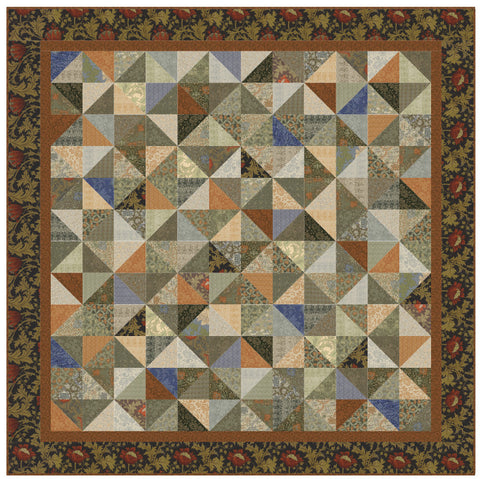 """Tapestry"" PDF Quilt Pattern"