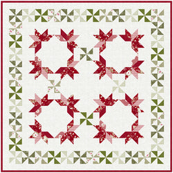 """Ring Around the Pinwheels"" PDF Quilt Pattern"