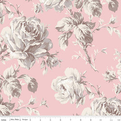 Rose Garden Wide Back Pink Print (WB7688 Pink)