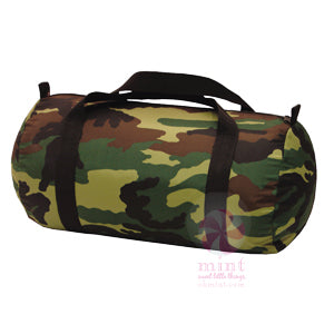 Camo Medium Duffel
