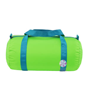 Lime Aqua Medium Duffel