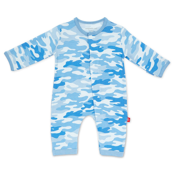 Blue Camo Magnetic Coverall