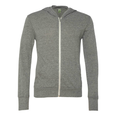 Alternative Apparel Eco-Jersey Full Zip Hoodie