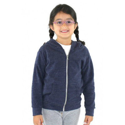 Royal Apparel Toddler Triblend Fleece Zip Hoodie