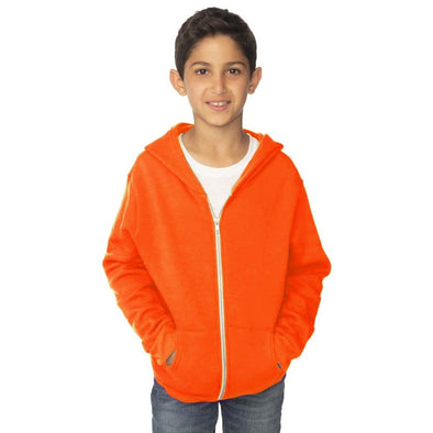 Youth Fleece Neon Zip