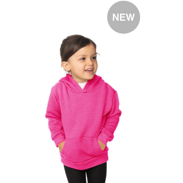 Toddler Fleece Neon Pullover