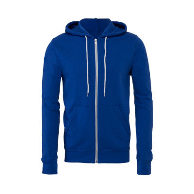 Bella + Canvas Unisex Sponge Fleece Full-Zip Hoodie