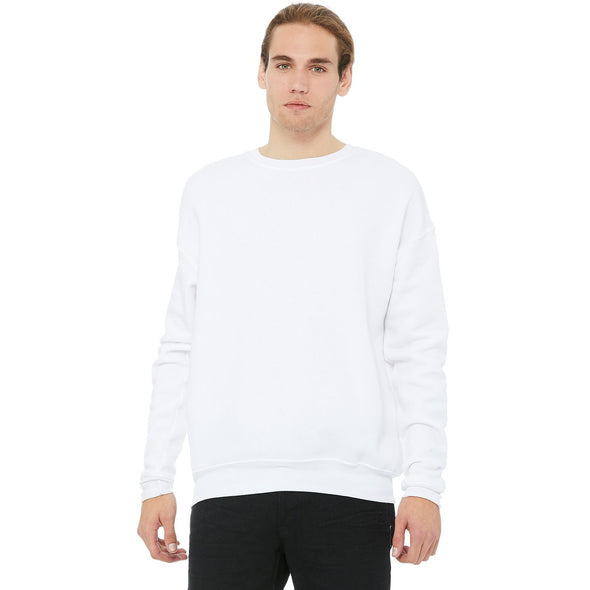 UNISEX SPONGE FLEECE DROP SHOULDER SWEATSHIRT