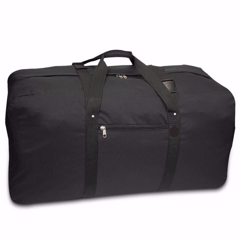 Large Camp Duffel Black