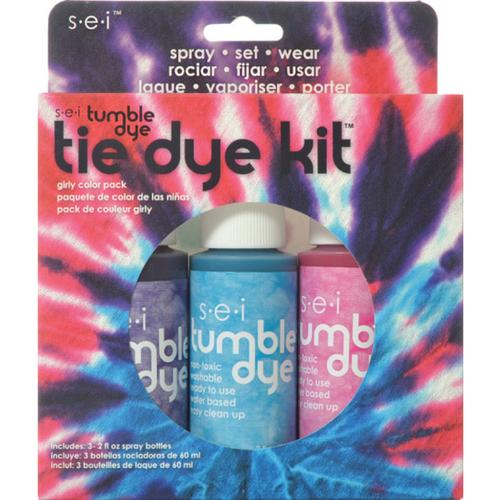 Girly Girl Tie Dye 3 Pack