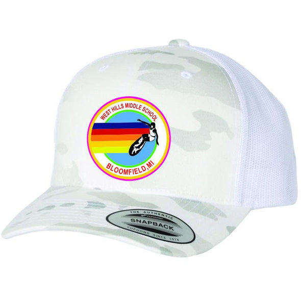 2020 West Hills White Camo AV Trucker