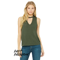 Bella + Canvas Women's Flowy Cut Neck Tank