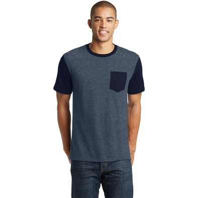 District- VIT w/ contrast sleeves and pocket