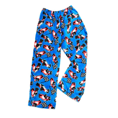 Race Car Fuzzie Pants