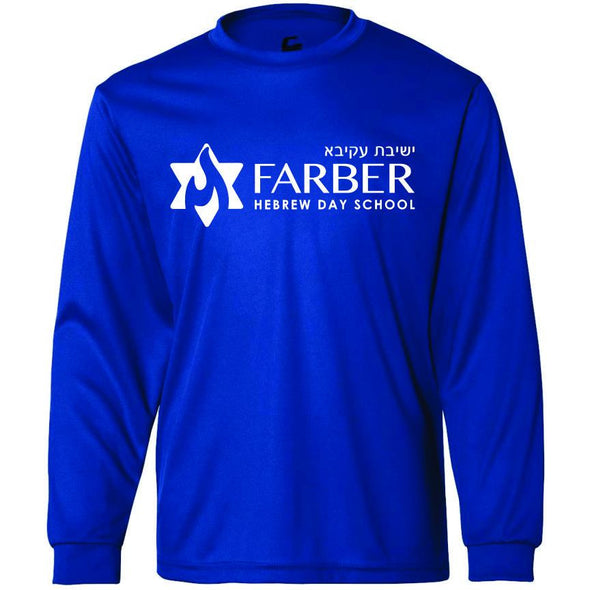 Farber Royal Dri Fit Long Sleeve Tee