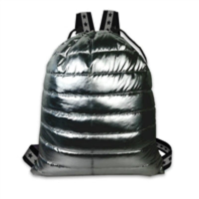 Puffer Metallic Backpack