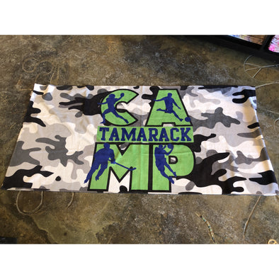 Boys Custom Tamarack Towel Camo