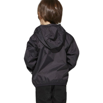 Kids Full Zip Packable Jacket