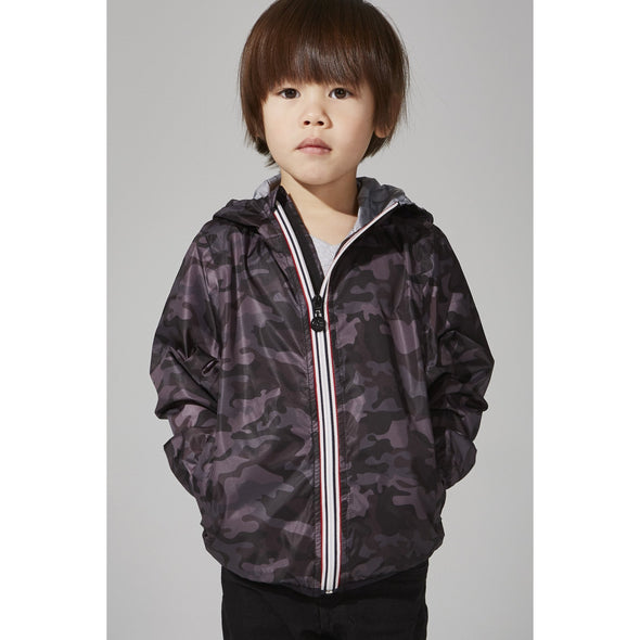 Kids Pattern Rain Jacket