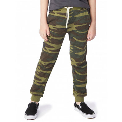 Youth Dodgeball Printed Eco-Fleece Pants