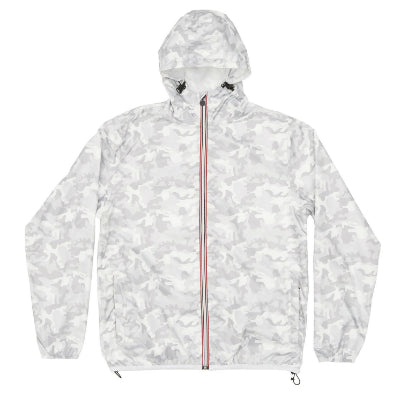 Women's Full Zip Printed Packable Jacket