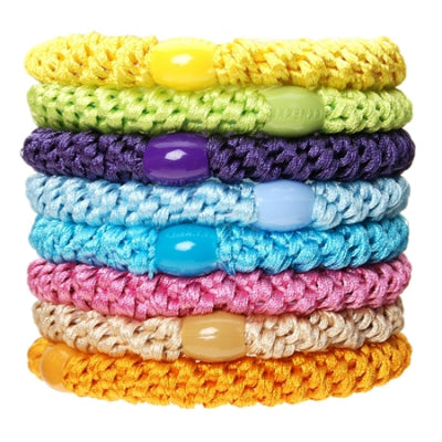 L Erickson Ponytail Holder Set Of 8