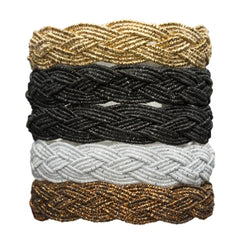 L Erickson Braided Ponytail Holder 5-Pack