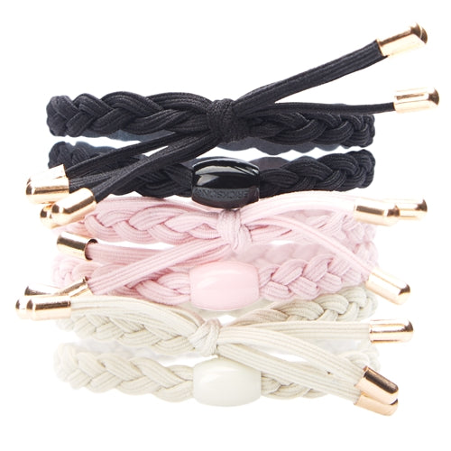 L. Erickson Braided Bow Pony 6-Pack