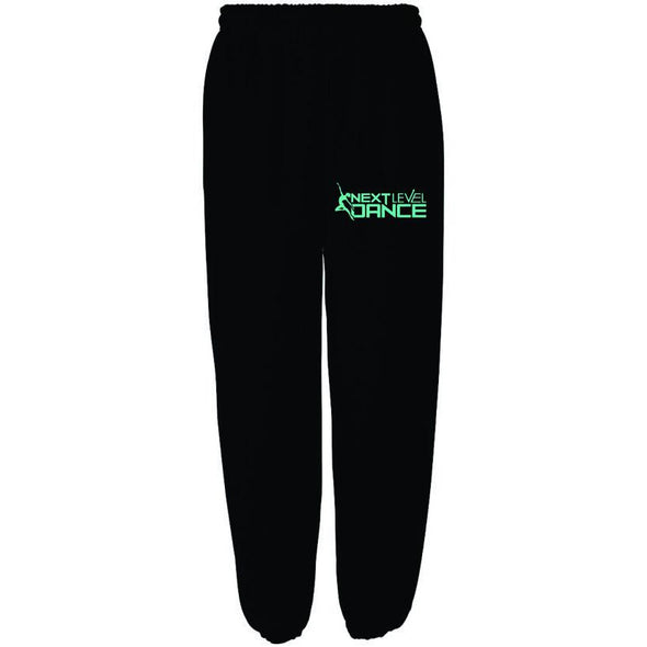 Next Level (T) Embroidered Black Basic Sweatpant