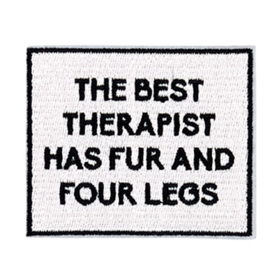 The Best Therapist Has Fur + Four Legs Patch