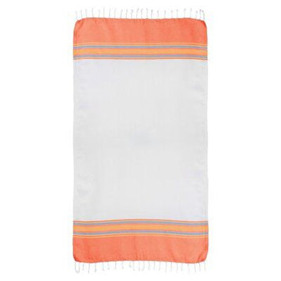 Orange Turkish Beach Towel