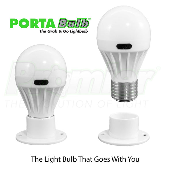 Portable Lightbulb w/ battery