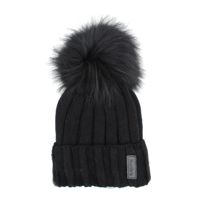 Adult Ribbed Merino Wool Hat