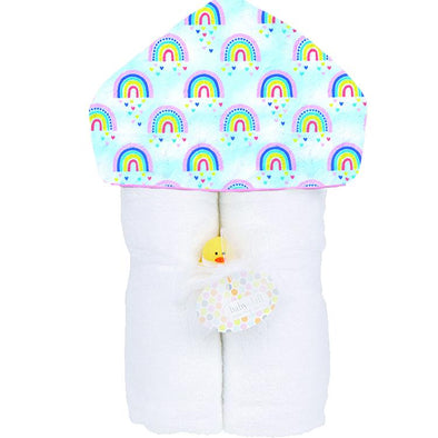 Over the rainbow  Hooded Towel