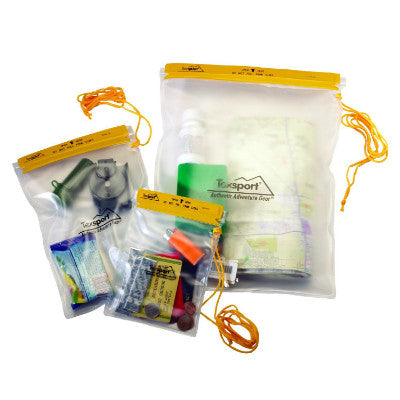 3-Piece Waterproof Pouch Set