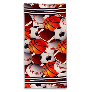 Sports Theme Beach Towel 2