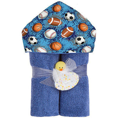 Deluxe Towel Plush Hood - Multi-Sports