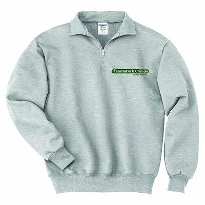 Tamarack 1/4 Zip Embroidered Sweatshirt