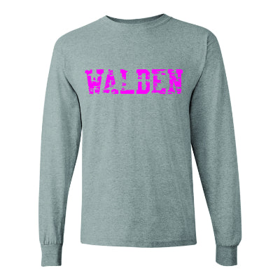 Walden Distressed Long Sleeve Tee