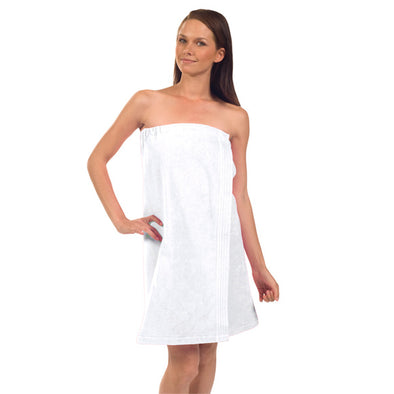 Women's Premium Terry Velour Spa Wrap