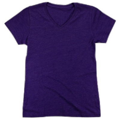 Boxercraft Youth Triblend V-Neck Tee