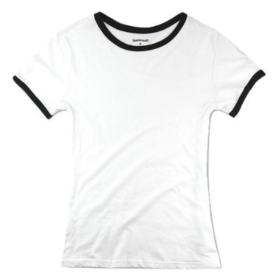 Boxercraft Girls Short Sleeve Ringer Tee