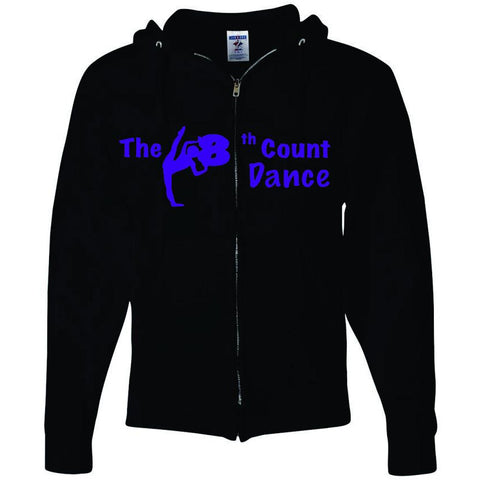 8th Count Dance  (P) Full Zipper Hood