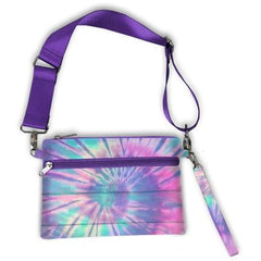 Tie Dye Puffer Belt bag