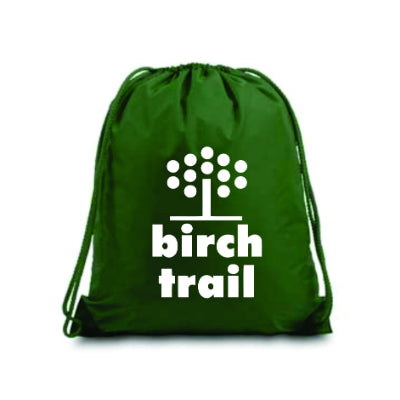 Birch Trail Drawstring Bag