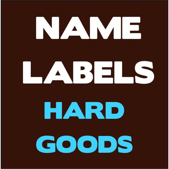 Hard Goods Stickers