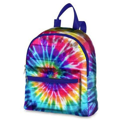 Spiral Tie Dye Puffer Mini Back Pack