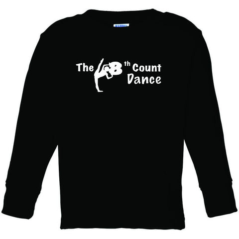 8th Count (BW) Toddler  Long Sleeve Tee